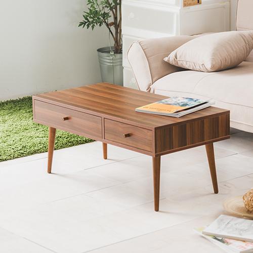 Peachy life 日式雙抽寬90cm茶几/茶几桌/和室桌/咖啡桌