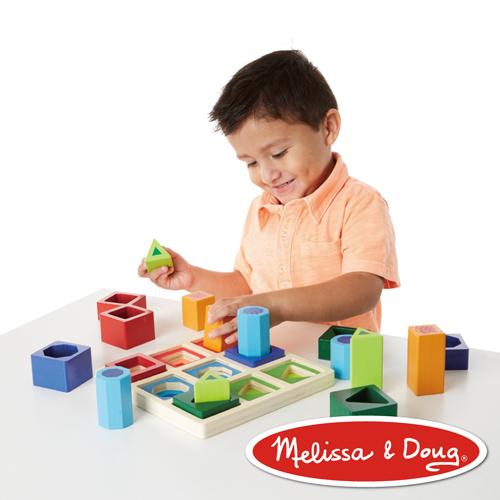 美國瑪莉莎 Melissa & Doug  益智遊戲 - 幾何形狀遊戲組