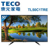 【促銷】TECO東元 50吋 FHD 廣色域不閃屏低藍光液晶顯示器+視訊盒(TL50C1TRE)
