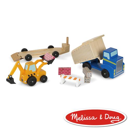 美國瑪莉莎 Melissa & Doug 交通工具 - 傾卸裝載拖車