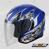 【M2R J-5 #7風速】3/4罩半罩安全帽│內藏墨鏡│歐洲新銳設計│高週波3D內襯│人體工學