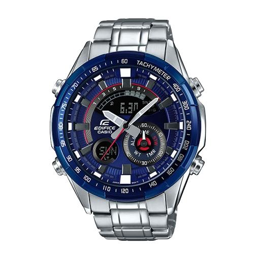 CASIO 卡西歐 EDIFICE 直條刻紋錶盤設計運動風格錶 (ERA-600RR)