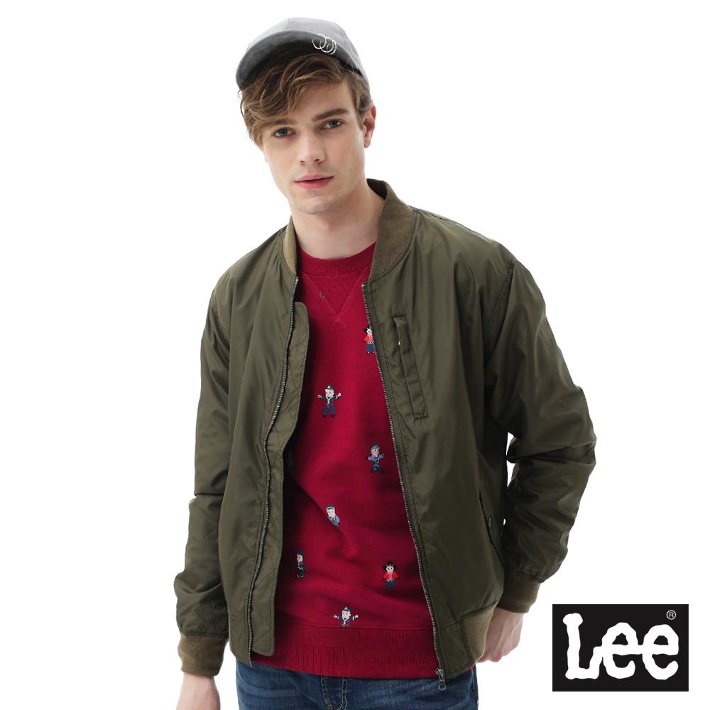 Lee 飛行夾克/RG-男款-綠色