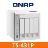 QNAP TS-431P 網路儲存伺服器