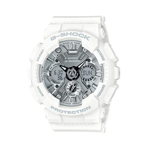 CASIO 卡西歐 G-SHOCK 系列 時尚潮流造型女錶 (GMA-S120MF)
