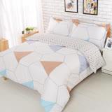 【夢工場】心享自由 加大精梳棉被套床包組