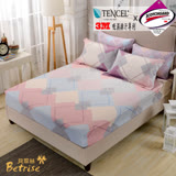 【Betrise心願調色盤】雙人-台灣製造-3M專利天絲吸濕排汗三件式床包組