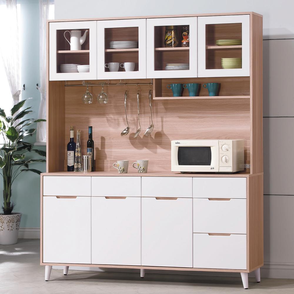 AS-莉絲麗北歐風5.3尺收餐櫃-40x161x200cm