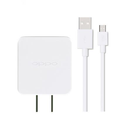 OPPO 5V/2A通用旅行充電器+2A USB傳輸充電線組