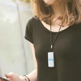 日本IONION 超輕量隨身空氣清淨機 專用吊飾鍊-黑鑽款