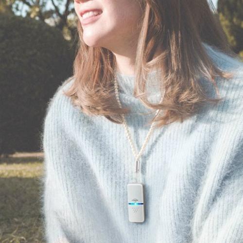 日本IONION 超輕量隨身空氣清淨機 專用吊飾鍊-珍珠款(本商品為吊鍊,不含清淨機主機)