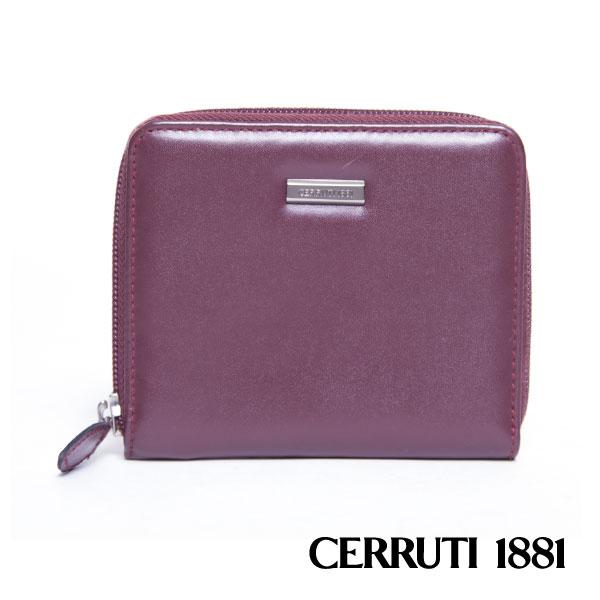 CERRUTI 1881 義大利製-拉鍊短夾包 030F-56903