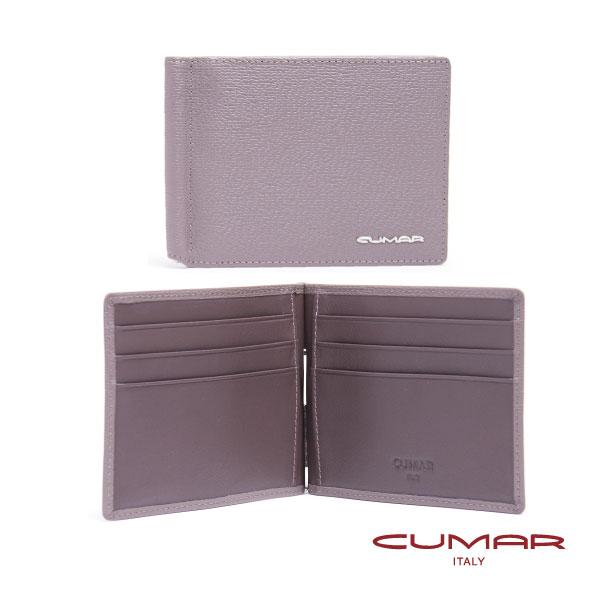 CUMAR 義大利牛皮-時尚短夾