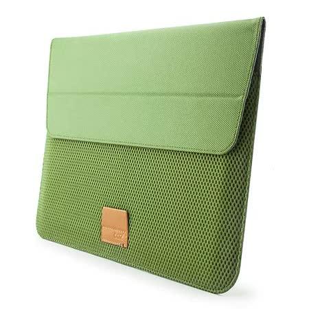 Cozistyle ARIA Stand Sleeve 13吋 Macbook Air/Pro(Retina) 防潑水可當立架 磁扣信封式筆電保護套 - 蕨綠 -friDay購物