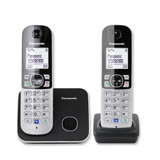 Panasonic DECT 數位式無線電話(黑)KX-TG6812