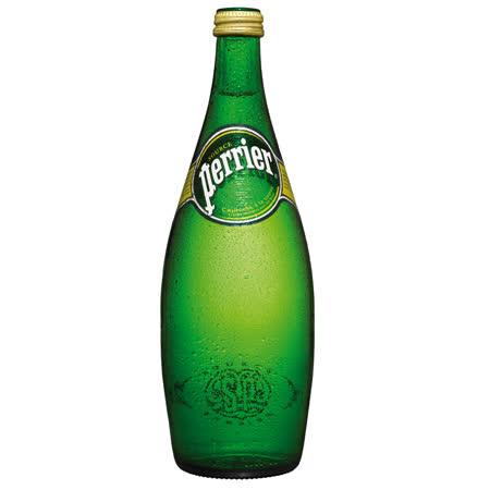 【法國Perrier】氣泡天然礦泉水(750mlX12罐/箱)
