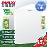 【SANLUX台灣三洋】45L單門小冰箱。珍珠白/SR-B45A5