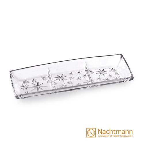 【德國Nachtmann】滿天星長形點心拼盤40cm