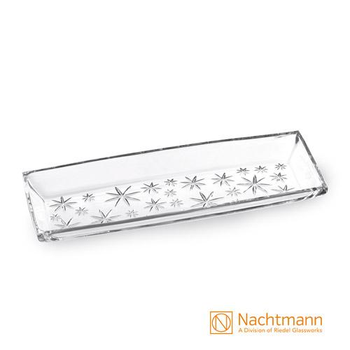 【德國Nachtmann】滿天星長形點心盤40cm
