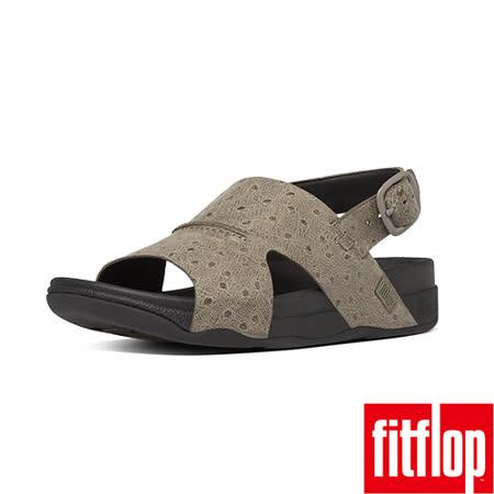 FitFlop 全牛皮後帶涼鞋