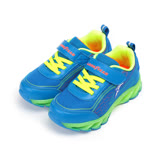 (中童) GOODYEAR 底燈黏帶運動鞋 藍 GAKR78516 童鞋 鞋全家福
