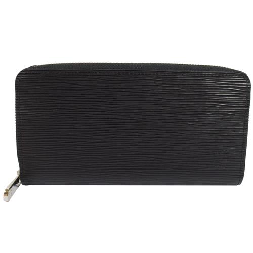 Louis Vuitton LV M61857 M60072 ZIPPY EPI 水波紋皮革拉鍊長夾.黑_現貨