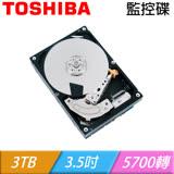 TOSHIBA 東芝【監控碟】3TB 3.5吋 硬碟(DT01ABA300V)