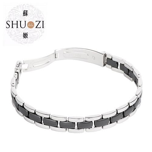 SHUZI™ 黑京瓷手鍊 - 美國製造  BL-C02
