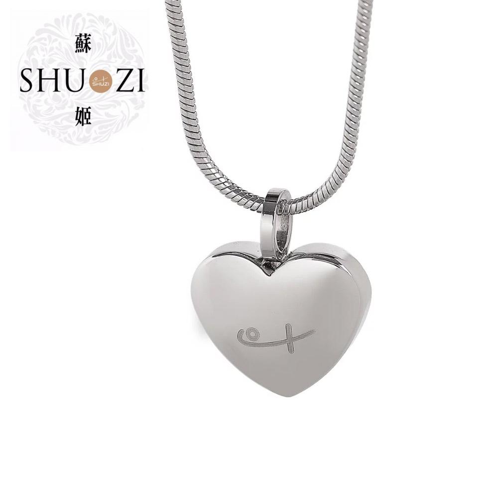 SHUZI™ 愛心墜鍊 - 美國製造  NH-S01