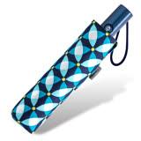 【RAINSTORY】幾何印花抗UV加大自動傘