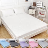 【韋恩寢具】防塵防潑水保潔墊床包-單人