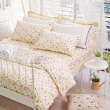 OLIVIA 《 玫瑰田園 》 單人兩用被套床包三件組 嚴選印花系列