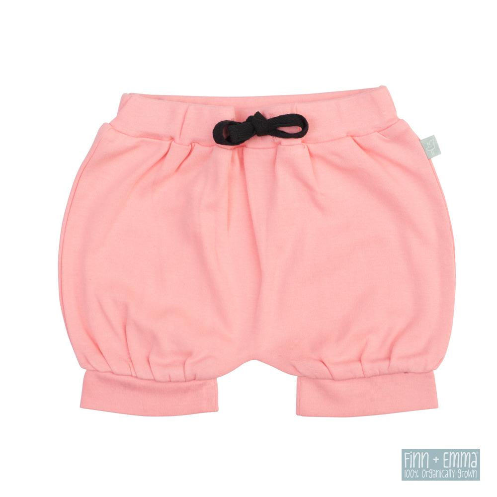 美國 FINN & EMMA 有機棉燈籠短褲 (玫瑰粉)