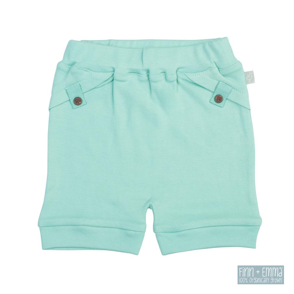 美國 FINN & EMMA 有機棉短褲 (維京藍)