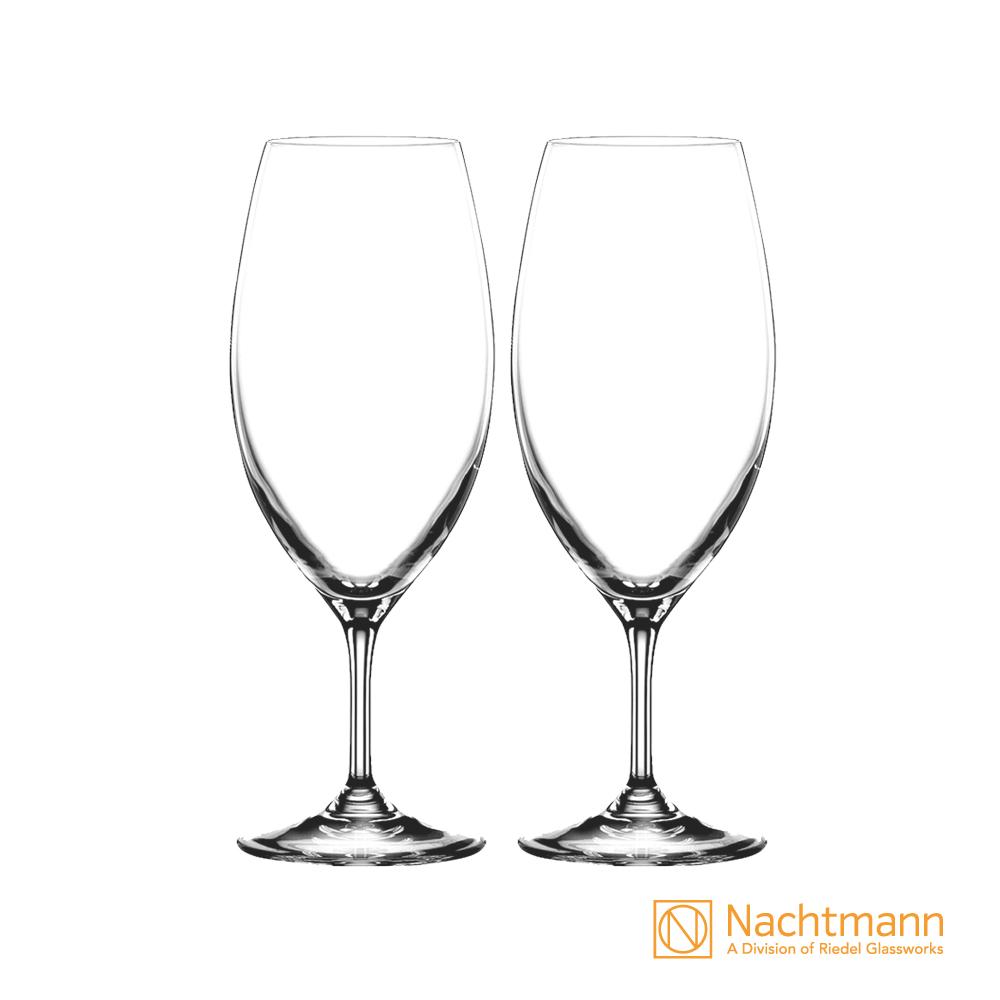 【德國Nachtmann】Gourmet 2000美食家啤酒杯(420ml)2入