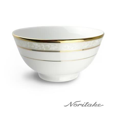 【日本Noritake】花舞春風金邊麵碗16CM