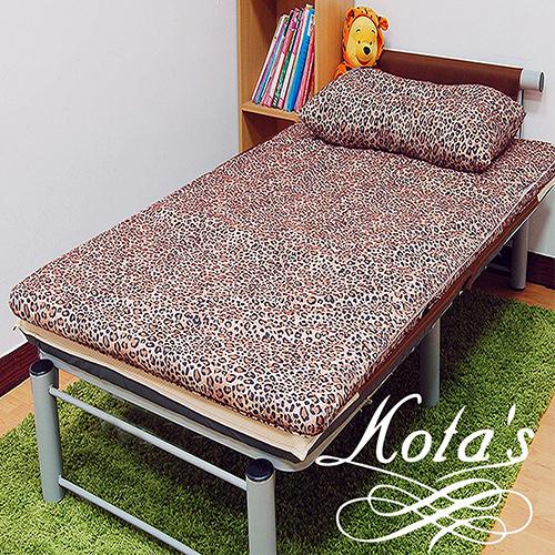 KOTAS 冬夏透氣床墊 單人床墊 折疊床 三尺   一入(送記憶枕乙顆)