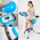 【 X-BIKE 晨昌】瑜珈球健身車 (空氣感坐墊,輕鬆扭動屁屁不痛痛~塑腰 美體 有氧 健身) X350