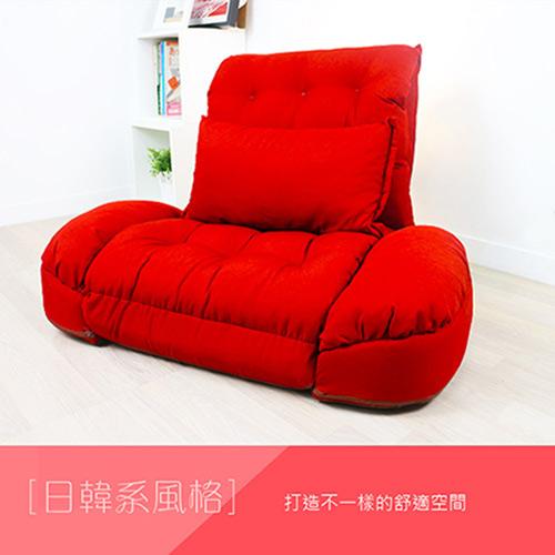 【KOTAS】凱特甜蜜單人扶手人沙發床-(單人床)-三色
