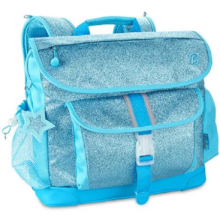 閃采系列-冰雪藍 大童輕量減壓背書包