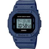 CASIO 卡西歐 Baby-G 丹寧電子錶-深藍 BGD-560DE-2DR