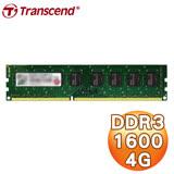 Transcend 創見 JetRam DDR3-1600 4G 桌上型記憶體