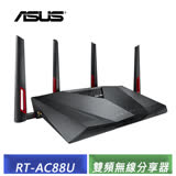 華碩 ASUS RT-AC88U 全球首選電競專用雙頻無線 AC3100 Gigabit 分享器