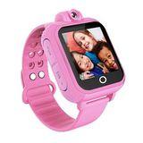 IS愛思 CW-01 3G版兒童智慧GPS定位手錶 -粉