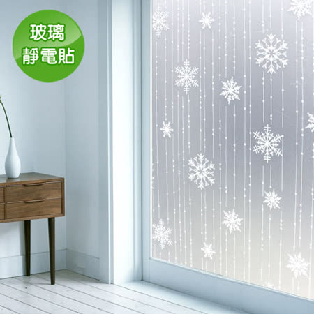 抵抗曝曬<br/>PVC無膠靜電N次貼玻璃紙5入
