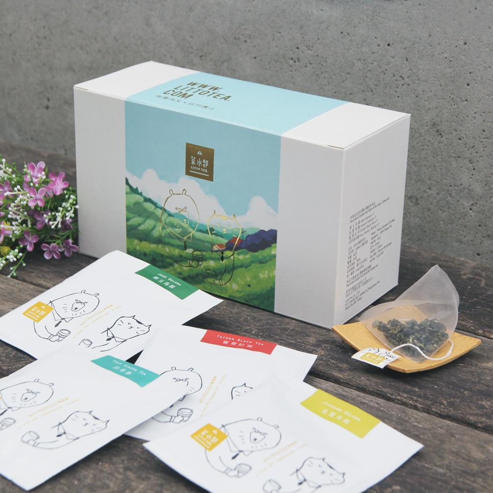 【茶水部】綜合精選茶包1盒(每盒20入,每入3g)(含運)