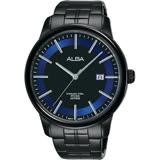 ALBA雅柏 日系時尚手錶-鍍黑/42mm VJ42-X226B(AS9D87X1)