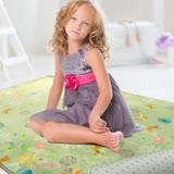 【范登伯格】繽紛視界折疊毯觸感柔軟摺疊好收納進口地毯-150x200cm