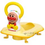 〔小禮堂嬰幼館〕麵包超人 2ways輔助馬桶座《黃.坐姿.方向盤把手》幼兒用