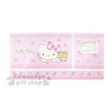 〔小禮堂〕Hello Kitty 水彩調色盤《粉.玫瑰花.大臉.小熊》附花型海綿
